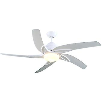 Ceiling Fan Viper White with Light 112 cm / 44