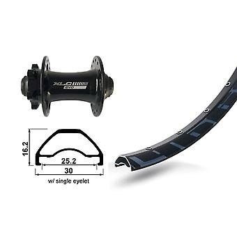XLC 27, 5″ front wheel Rodi ready 25 disc + XLC Evo 6-hole