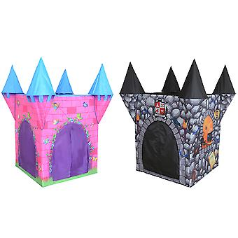 Charles Bentley Kid's Girls Boys Castle Play Tent - Indoor / Outdoor - Christmas Gift - Age 3+ Years