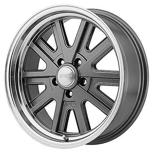 American Racing VN527 Mag gris roue usiné Lip (17 x 7& 034;  5x114.3mm, 0mm deport)