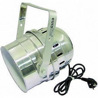 Eurolite LED PAR-64 Kurz LED PAR stage spotlight No. of LEDs: 183 x Silver