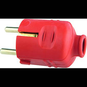 GAO 620258 Safety plug Plastic 230 V Red IP20