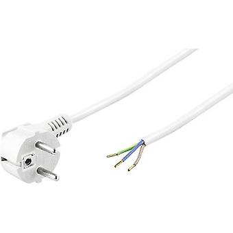 Nåværende kabel hvit 5 m