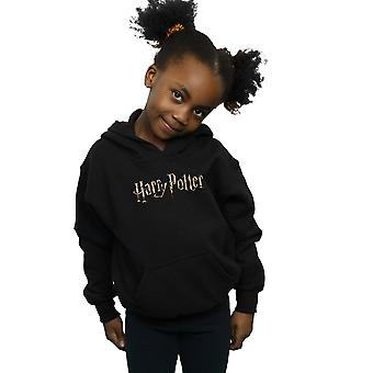Harry Potter Girls Full Colour Logo Hoodie