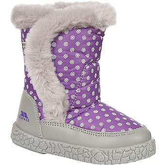 Trespass Girls Babies/Toddlers Tigan Fleece Lined Winter Snow Boot
