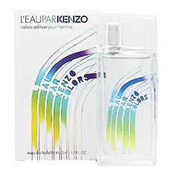 Kenzo L'Eau Par Kenzo Colors Edition Pour Femme Eau de Toilette 50ml EDT Spray