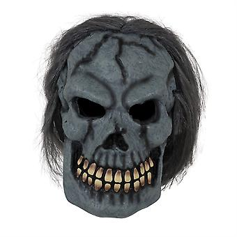 Skull Mask W/Hair
