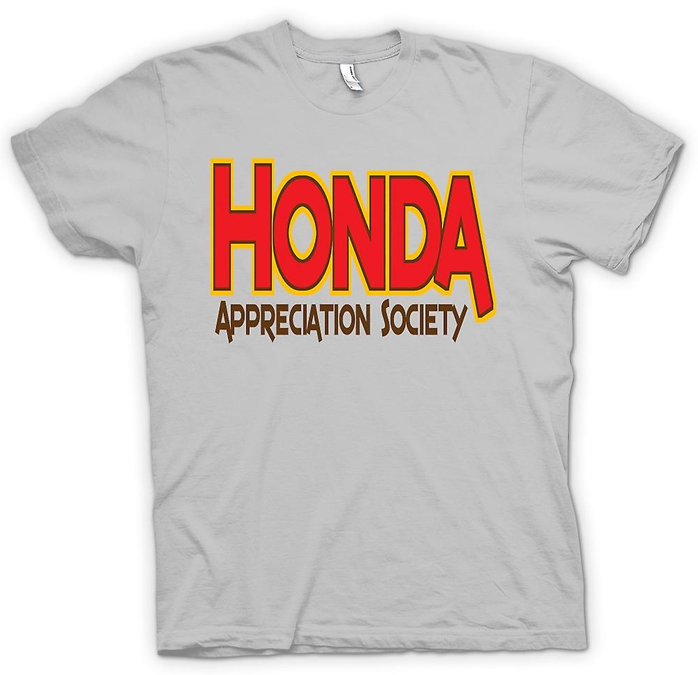 Mens t-shirt-Honda Appreciation Society
