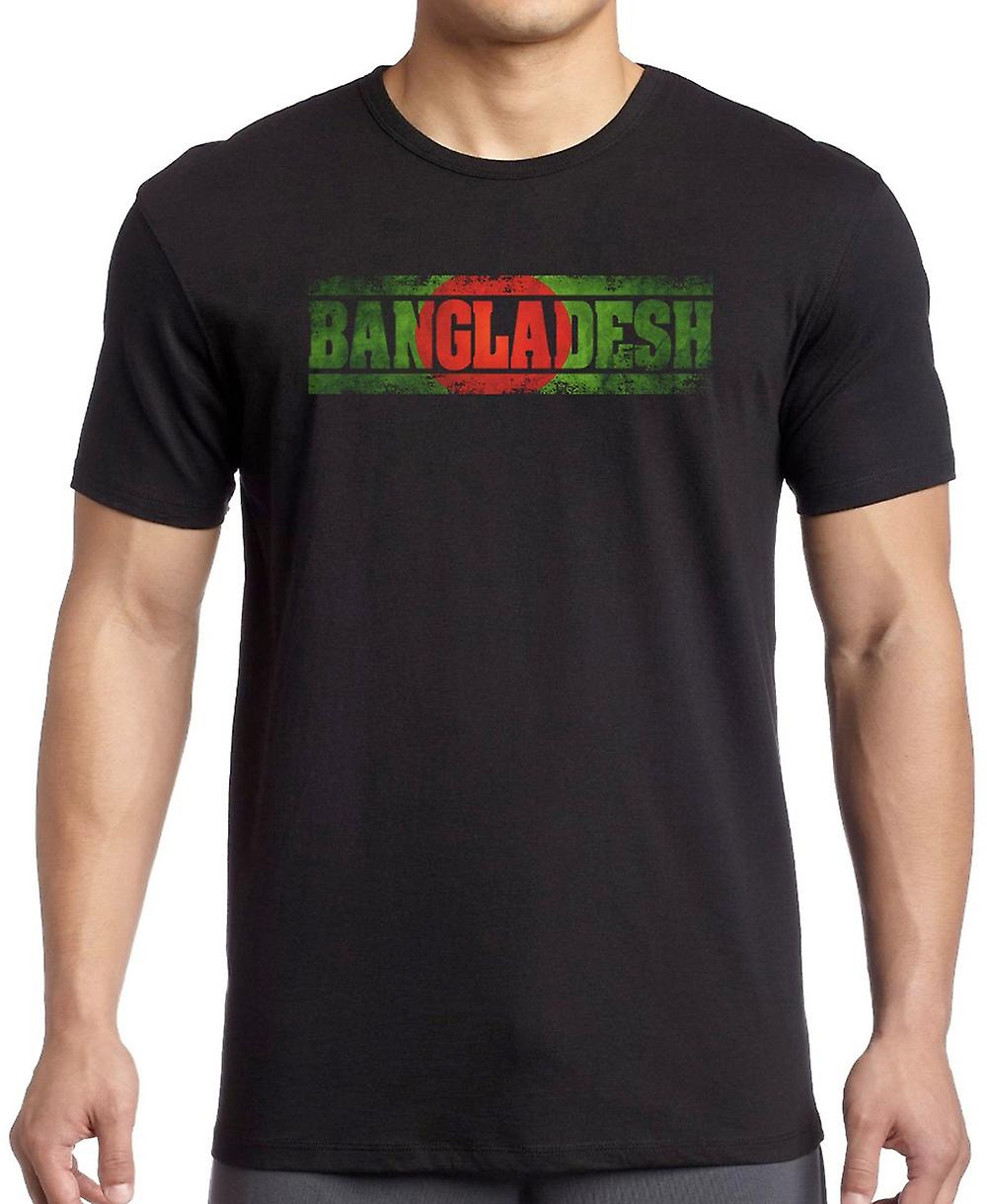 Bangladeshi Bangladesh Flag - Words T Shirt
