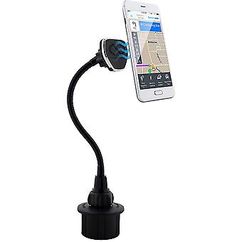 Naztech MagBuddy Car Cup Holder Magnetic Universal Smartphone Mount - Black