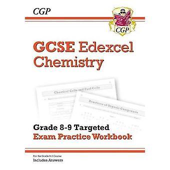 Nya GCSE kemi Edexcel årskurs 8-9 riktade examen övningsarbetsboken