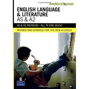 Revision Express AS and A2 English Language and Literature (Revision Express)