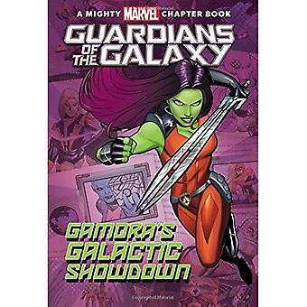 Strażnicy Galaktyki: Galactic Showdown Gamora's: Mighty Marvel rozdział książki (Marvel rozdział książki)