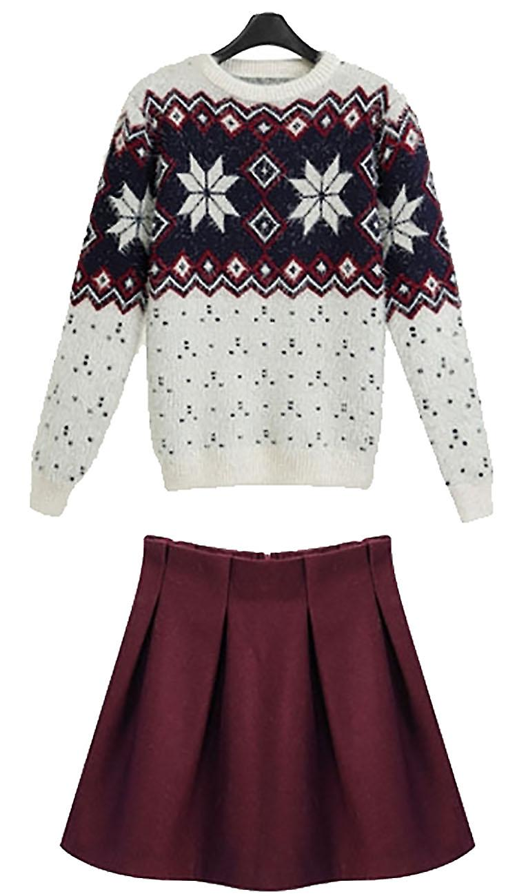 Waooh - pull together winter skirt pattern Cuify