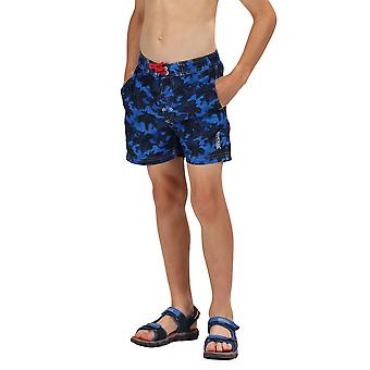 Regatta Boys Skander II Camoflauge Quick Dry Swim Shorts