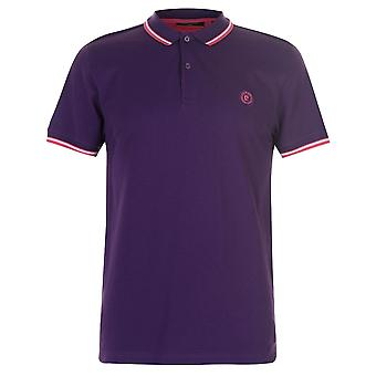 Pierre Cardin Mens Slim Fit Tipped Polo Shirt Classic Tee Top Short Sleeve