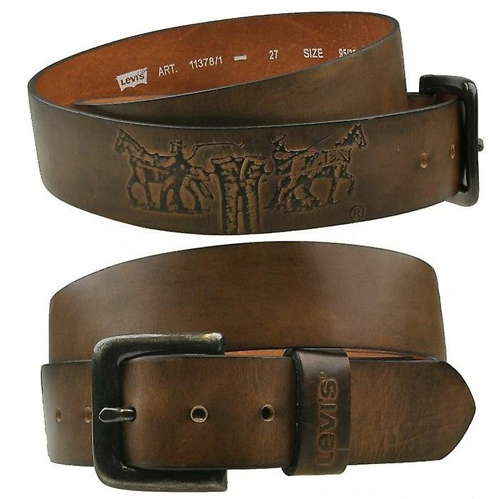 Levi's Stinson Belt - Medium Brown