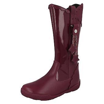 Girls Startrite Knee High Winter Boots Fondant