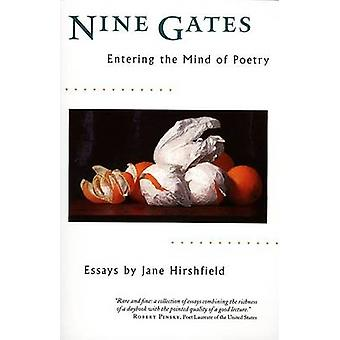 Nine Gates by Hirshfield - 9780060929480 Book