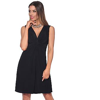 KRISP Ruched Drape Twist Knot Front Mini Dress Tie Belted Party Summer Casual Beach