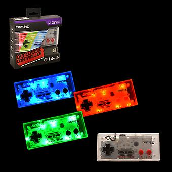 NES Controller USB Blue/Red/Green LED Retrolink - PC