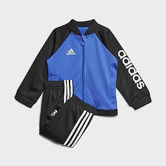 Adidas Infant Boys Shiny Tracksuit CF7391