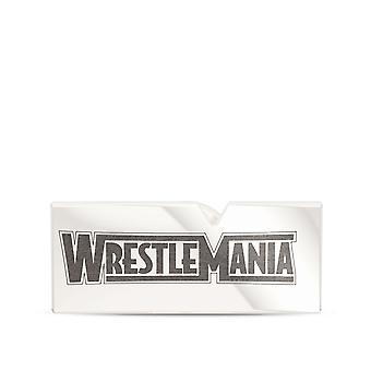 Wrestle Mania - Wwe Wrestlemania Pin In Sterling Silber