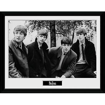 Beatles utgör inramade Collector Print 40x30cm