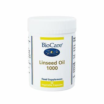 BioCare Linseed Oil 1000 Vegicaps 90 (30490)