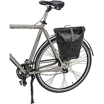 Vaude Aqua Back Luminum Single Rear Bike Pannier - Black
