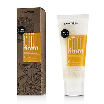 Matrix Style Link Air Dry Chill Boho Smoothing Air-Dry Cream (Hold 1) 100ml/3.4oz