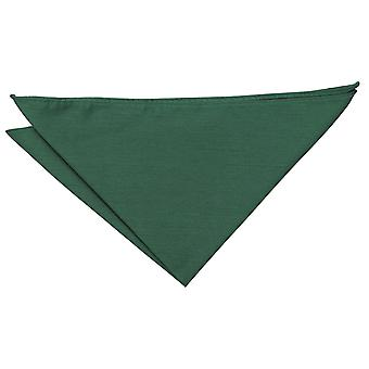 Emerald Green Shantung Pocket Square