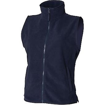 Henbury - Women's Ladies Sleeveless Microfleece Jacket