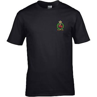 Royal Army Veterinary Corps-gelicentieerd Britse leger geborduurd premie T-shirt