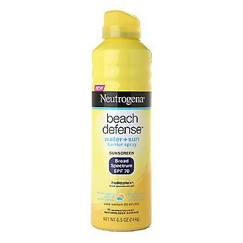 Neutrogena beach defense spray, spf 70, 6.5 oz