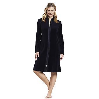 Rosch 1884165-11694 Women's New Romance Night Blue Cotton Loungewear Robe