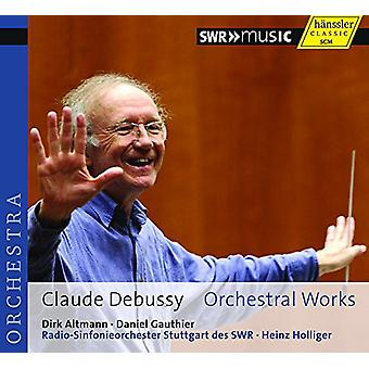 Debussy/Ho/Stuttgart Radio Sym Orch - Orchestral Works [CD] USA import