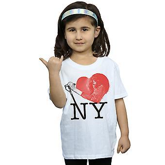 Joey Ramone jenter I hjertet NY T-skjorte