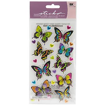 Sticko Plus Stickers Dancing Butterflies Spl 40059