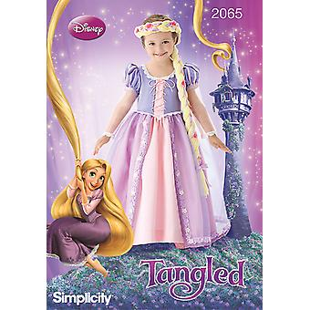 Simplicity Child's Costumes 3 4 5 6 7 8 Us2065a