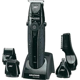 Hair clipper, Beard trimmer, Body hair trimmer Grundig Grundig washable Black