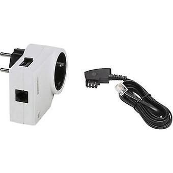 Surge protection in-line connector Surge prtection for: mains outlets, Phone/fax (RJ11), Phone/fax (TAE) Phoenix Contac