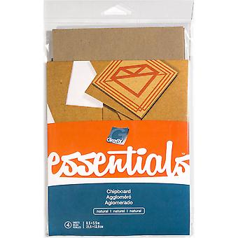 Grafix Essentials Natural Chipboard 5.5