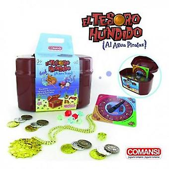 Comansi Games Outdoor Sunken Treasure (Outdoor , Pool And Water Games , Toys)