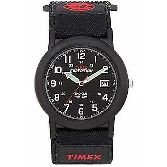 Timex Mens Black Camper Expedition T40011 Watch