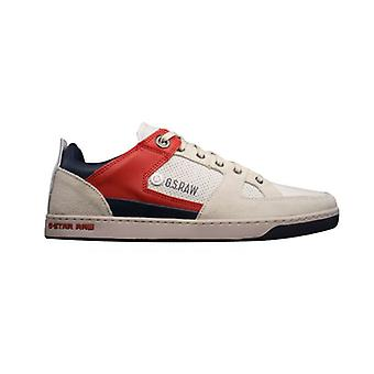 G-Star Raw Pitcher Rhodes Mens Leather Trainers / Shoes - White