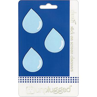 Dusti Reusable Screen Cleaner 3/Pkg-Droplet DU-DRPLT