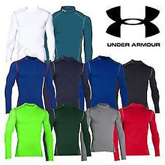 Under Armour Herren Kompressions-Mock-Shirt UA ColdGear® Armour® color black