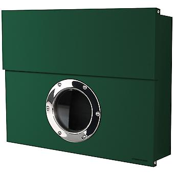 RADIUS Letterman XXL dark green mailbox with concealed compartment of newspaper 550o