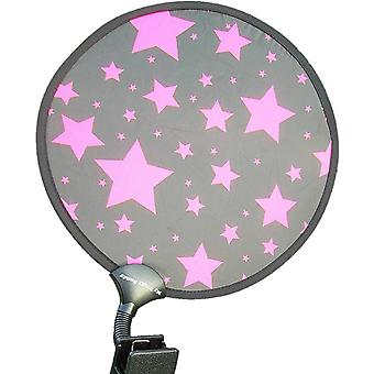My Buggy Buddy Sunshade - Pink Stars